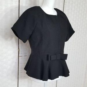 Gracia Peplum Ribbon Jacket